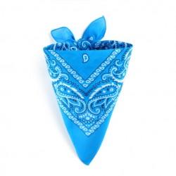 Bandana Bleu cyan