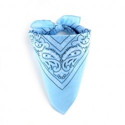Bandana Bleu Layette